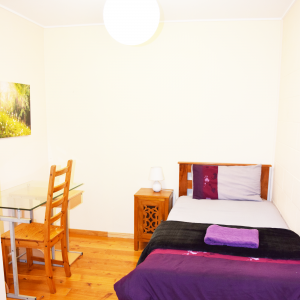 single yoga training accommodation
